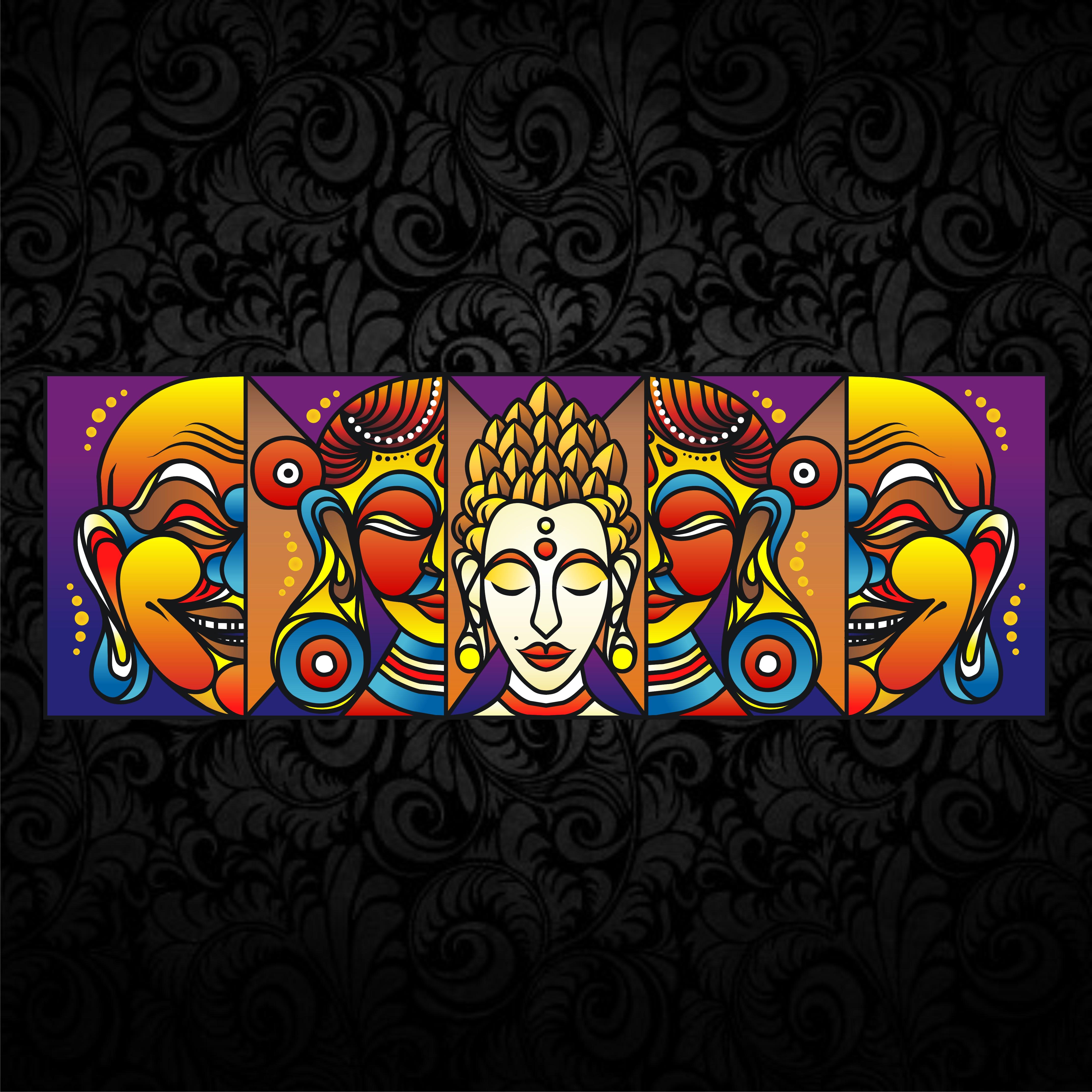 Oriental Guardian (Canvas)