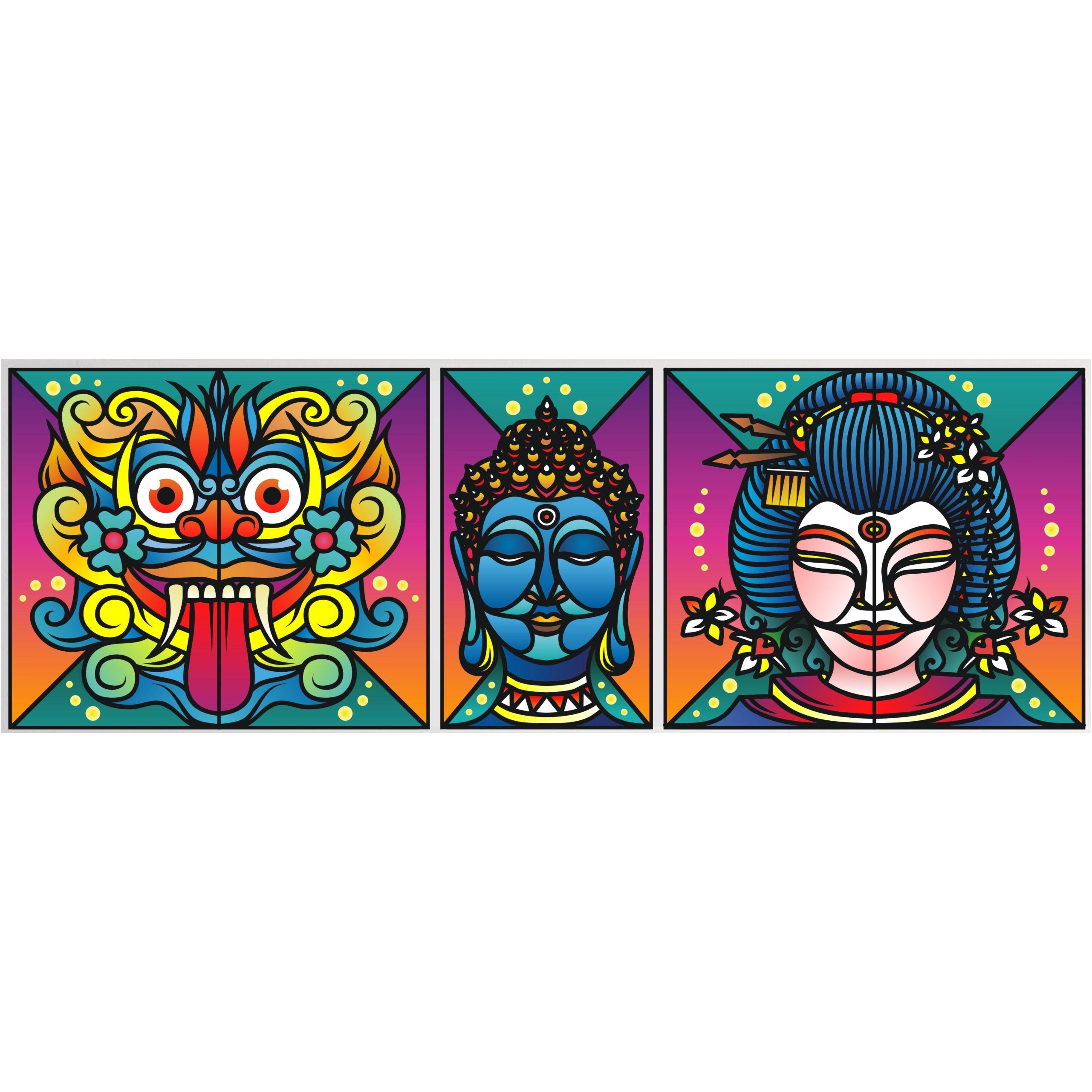 Oriental Guardian2 (Canvas)